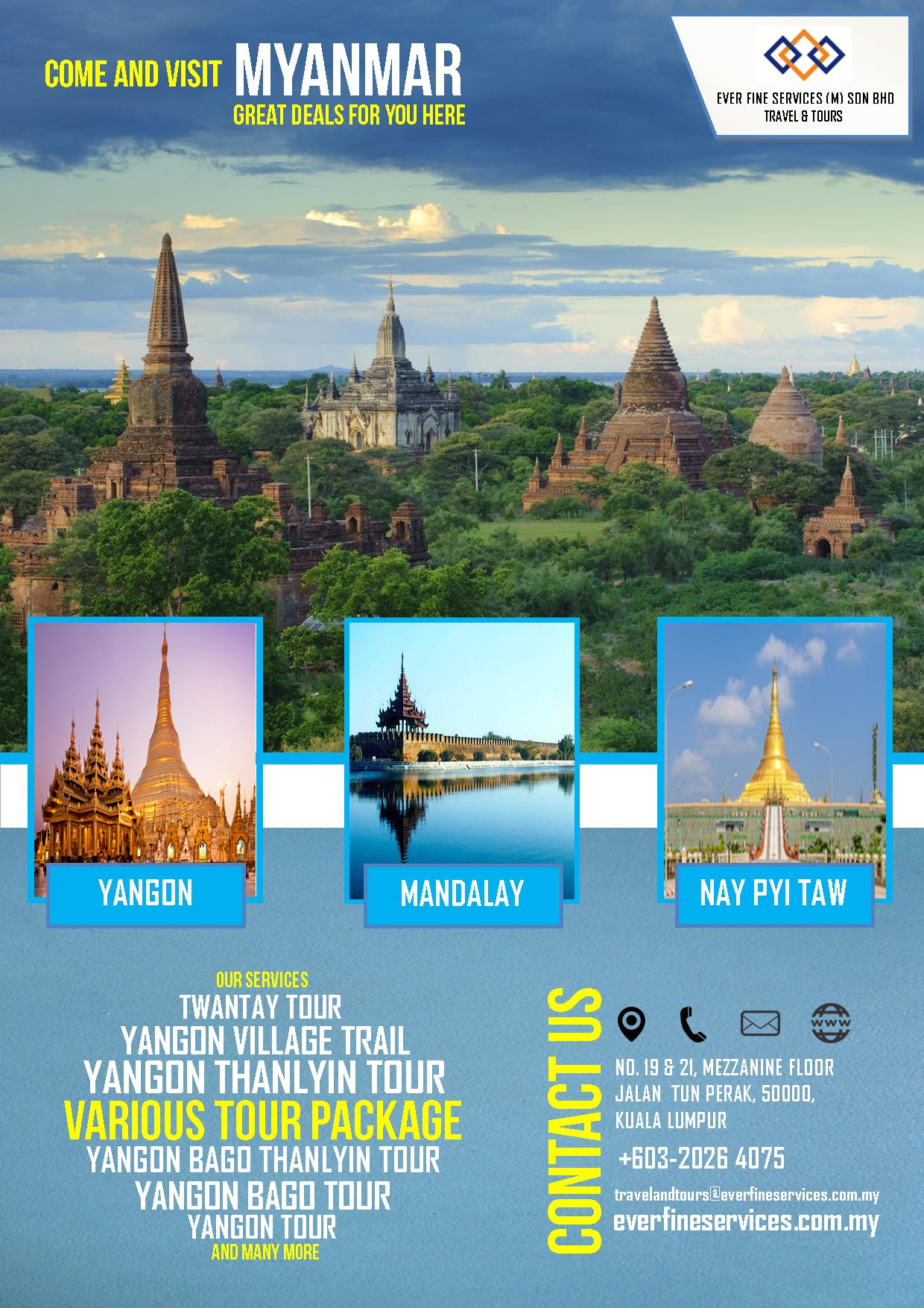 Travel  Tours Poster